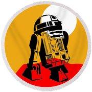 Star Wars R2-d2 Collection Round Beach Towel