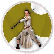 star Wars Rey Collection Round Beach Towel