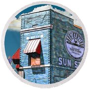 Sun Studio Collection Round Beach Towel