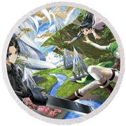 Sword Art Online Round Beach Towel