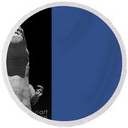 T Rex  Round Beach Towel
