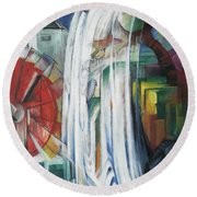 The Bewitched Mill Round Beach Towel