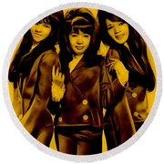The Ronettes Collection Round Beach Towel