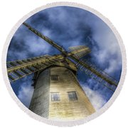 Upminster Windmill Essex Round Beach Towel