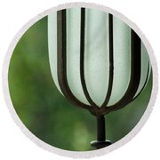 Window Sill Decoration Round Beach Towel
