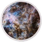 30 Doradus - Tarantula Nebula 8  Round Beach Towel