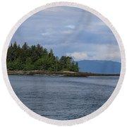 Alaska_00035 Round Beach Towel
