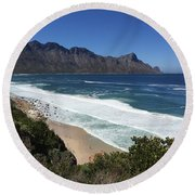 369 Looking Glass  Round Beach Towel