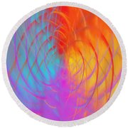 Art No.15 Round Beach Towel