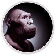 Australopithecus Round Beach Towel