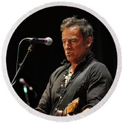 Bruce Springsteen Round Beach Towel