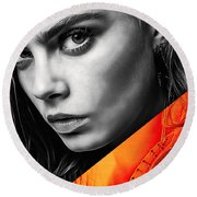 Cara Delevingne Collection Round Beach Towel