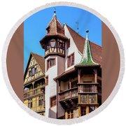 Colmar - France Round Beach Towel