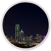 Dallas - Texas Round Beach Towel