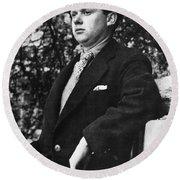 Dylan Thomas (1914-1953) Round Beach Towel