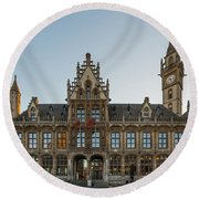 Ghent2 Round Beach Towel