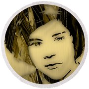 Harry Styles Collection Round Beach Towel