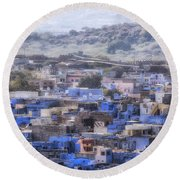 Jodhpur - India Round Beach Towel