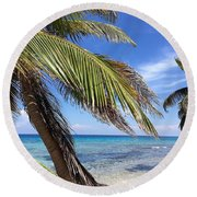 Laughing Bird Caye Round Beach Towel
