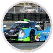 Ligier Js P3 Le Mans Prototype 3 Lmp3 Round Beach Towel