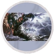 Magic The Gathering Round Beach Towel
