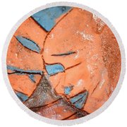 Mask - Tile Round Beach Towel