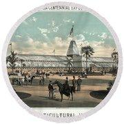 New Orleans, Fair, 1884.  Round Beach Towel