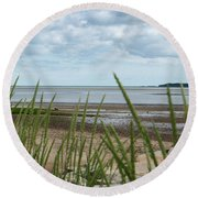 Plymouth, Massachusetts, Beach Round Beach Towel