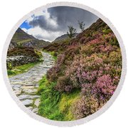 Snowdonia National Park - Round Beach Towel