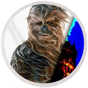 Star Wars Chewbacca Collection Round Beach Towel