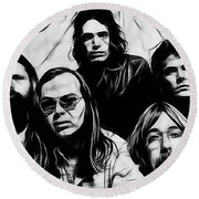Steely Dan Collection Round Beach Towel