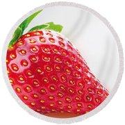 Strawberry Round Beach Towel