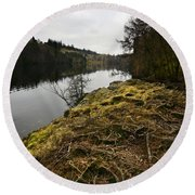 Tarn Hows Round Beach Towel