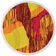 4 U 282 Round Beach Towel