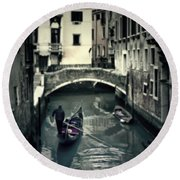 Venezia Round Beach Towel by Joana Kruse