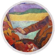 Vincent Van Gogh (1853-1890) Round Beach Towel