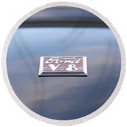 '40 Ford V8 Round Beach Towel