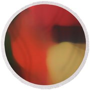 Translucent Abstractions Series Round Beach Towel