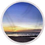 Instagram Photo Round Beach Towel
