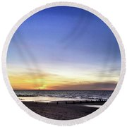 Instagram Photo Round Beach Towel by John Edwards
