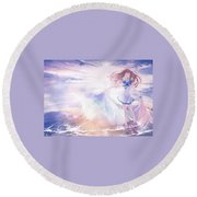 43309 Nagi No Asukara Round Beach Towel