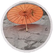 4440- Umbrella Round Beach Towel