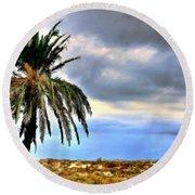 Landscape Fine Art Round Beach Towel