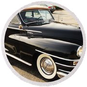 47 Packard Round Beach Towel