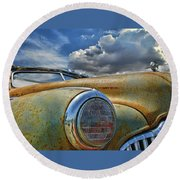 48 Buick Round Beach Towel