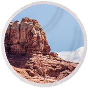 Views Of Canyonlands National Park Round Beach Towel