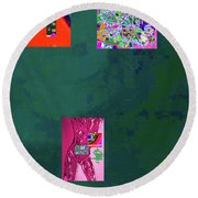 5-4-2015fa Round Beach Towel