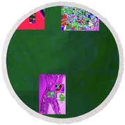 5-4-2015fabcd Round Beach Towel