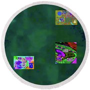 5-6-2015cabcdef Round Beach Towel