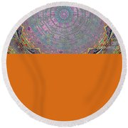 Abstract Series Round Beach Towel